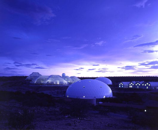 Main Results from Biosphere 2 presented by Allen, Dempster & Nelson at the Santa Fe Institute